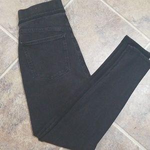 Madewell anywhere jean skinny black crop sz 29
